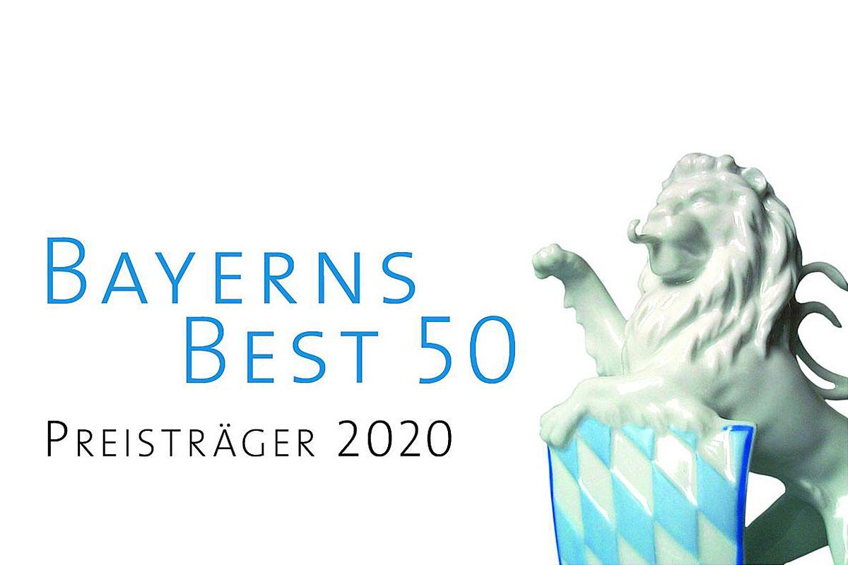 2020 Ehrung der Schneider Holding GmbH: BAYERNS BEST 50